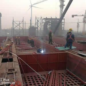 industrial dust collector pulse jet bag filter factory plant workshop (24)