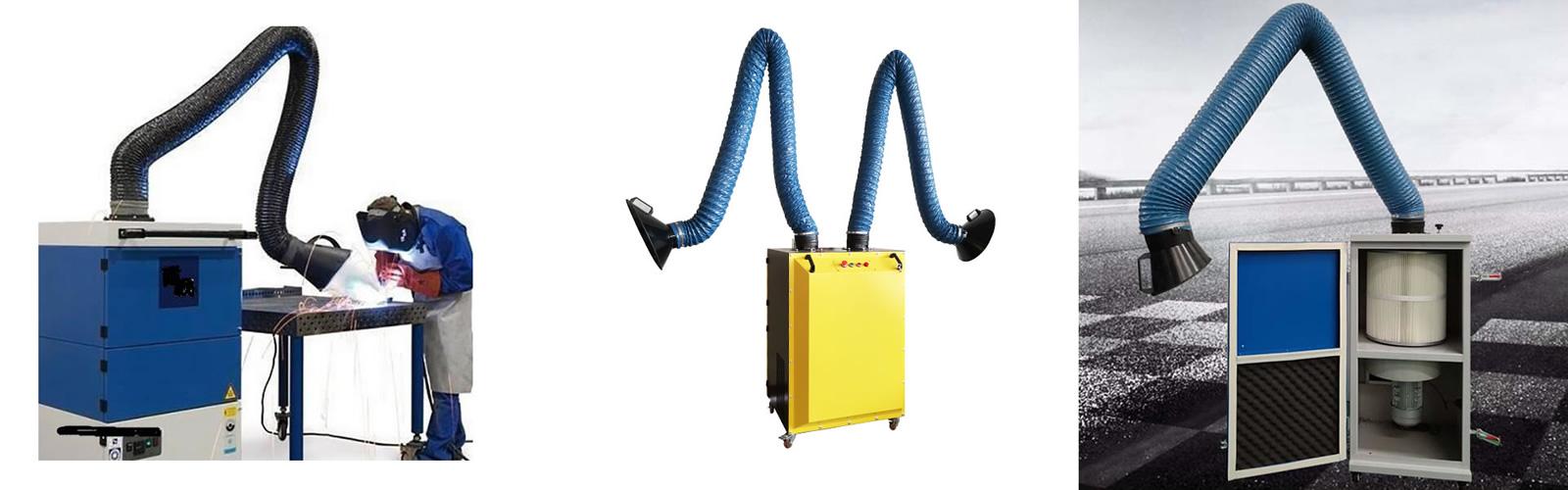 welding fume extractor1600